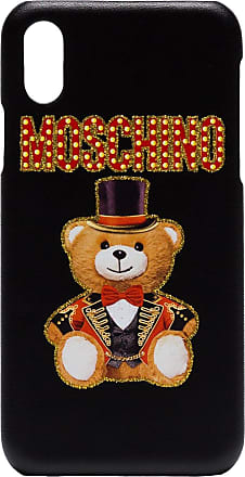 Moschino cabaret Teddy bear iPhone X cover - Black