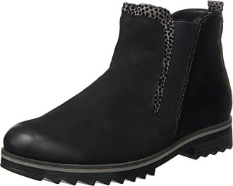 Remonte Womens R2280 Chelsea Boots, Black (Schwarz/Grau/Schwarz/02), 6.5 UK