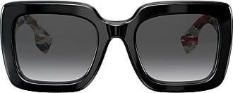 Burberry Sunglasses Óculos de sol oversized quadrado - Preto