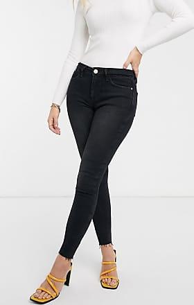 River Island Amelie skinny jeans in washed black