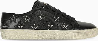 Saint Laurent Sneaker Andy nera con stelle