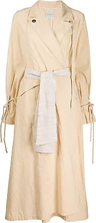 Forte_Forte belted trench coat - Neutrals