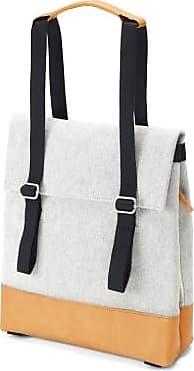 Qwstion Kleine Tasche Raw Blend Naturleder - Black/Leather /Natural