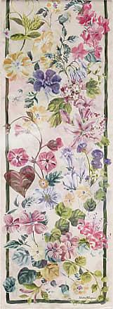 Salvatore Ferragamo Women Silk floral print scarf Pink