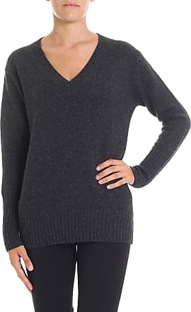 360 Cashmere Dark grey cashmere Runa sweater
