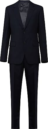 Prada single-breasted two-piece suit - Azul