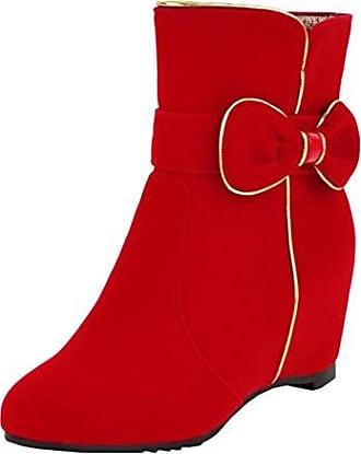 Stiefeletten Mit Absatz in Rot von Aiyoumei® ab 52,00