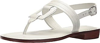 Bernardo Womens Tegan Flat Sandal, White Antique Calf, 9M M US