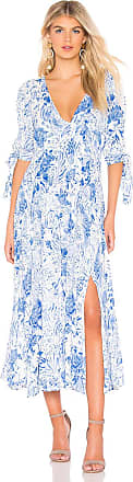 Free People Forever Always Midi Dress in Blue