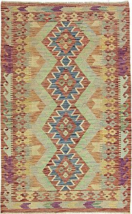 Nain Trading 160x101 Kilim Afghan Heritage Rug Brown/Pink (Afghanistan, Wool, Handwoven)