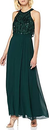 s.Oliver BLACK LABEL Damen Abendkleid mit Spitze Bottle