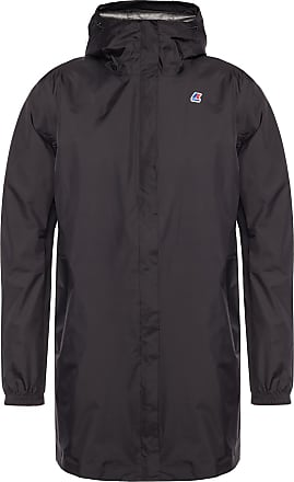 K-Way Hooded Rainjacket Womens Black