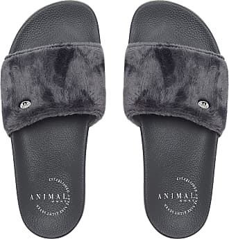 Farah Blue Sliders Slip On Shower Beach Shoes Classic Wave Slides Flip Flops