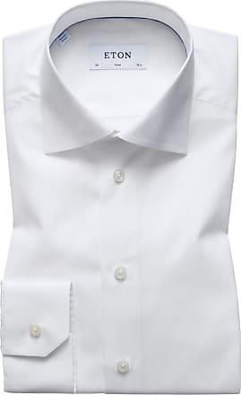 Eton Kentkragen-Businesshemd, Slim Fit von Eton in Weiss für Herren