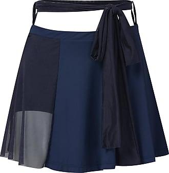 BALLETTO Shorts Saia Bio Attivo Faixa Tule Azul - Mulher - M/G BR