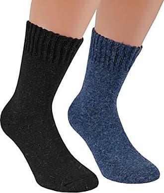Angora Thermosocken 6 Paar Damen Herren Socken Strümpfe Wintersocken Wollsocken