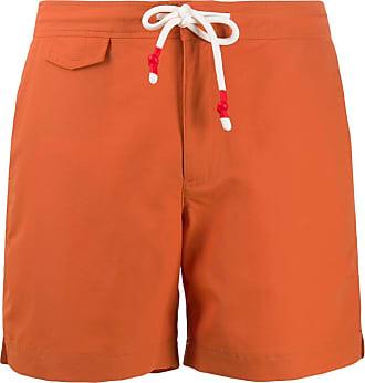 Orlebar Brown Short de natação Standard midi - Laranja