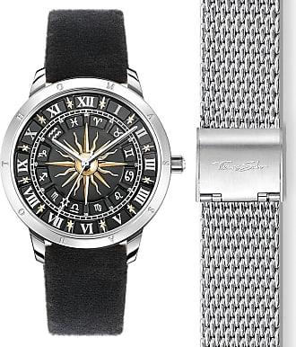 Acotis Limited Thomas Sabo Watches Thomas Sabo Black TwoTone Sun Womens Watch WA0351