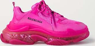balenciaga basket femme rose