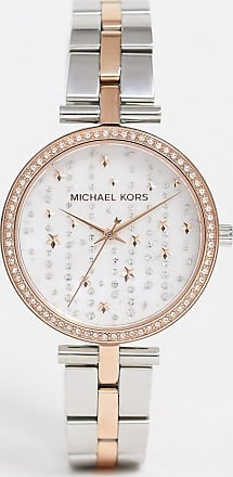 Michael Kors MK4452 Maci bracelet watch in mixed metal-Multi