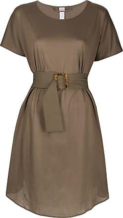 Eres Kleid mit Gürtel - Grün