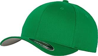 Yupoong Mens Flexfit Fitted Baseball Cap (LXL) (Pepper Green)