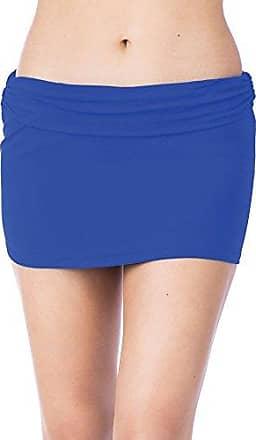 Chaps Womens Core Solids Shirred High Waisted Pant Bikini Bottom
