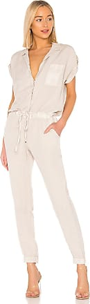 Young Fabulous & Broke Adrienne Jumpsuit in Light Gray