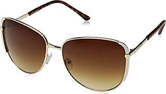 Steve Madden Womens Sm494114 Square Sunglasses Tortoise 60 mm