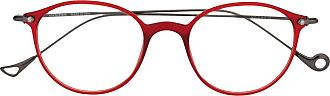 Eyepetizer Armação de óculos Nic - Vermelho