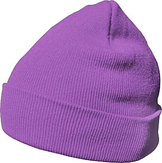 DonDon winter hat beanie warm classical design modern and soft violet