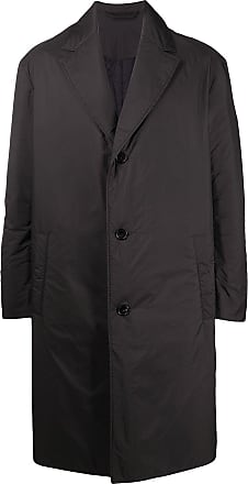 Acne Studios padded single-breasted coat - Black