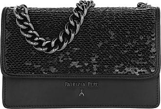 Patrizia Pepe Chain Crossbody Bag Nero Umhängetasche schwarz