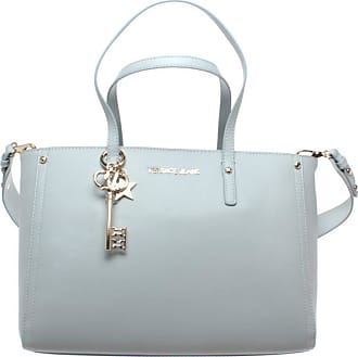 Versace Jeans Couture Womens Hand Shoulder Bag E1VTBBN1 Bottalato Charms Light Blue New