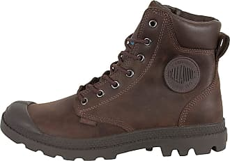 Palladium Pampa Cuff Mens Leather Material Boots Brown - 10 UK