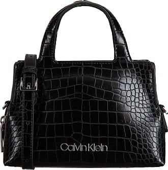 Calvin Klein Schwarze Calvin Klein Handtasche Neat Croc Tote Mini