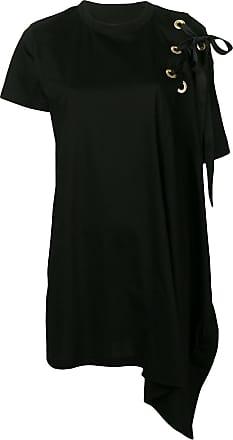08504c5ffeef6 sacai asymmetric T-shirt dress - Black