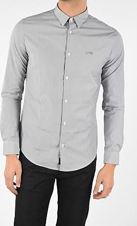 Armani JEANS Striped Slim Fit Shirt Größe Xxl
