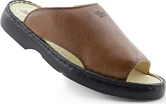 Doctor Shoes Antistaffa Chinelo Masculino 305 Comfort Whisky em Couro Doctor Shoes-Whisky-40
