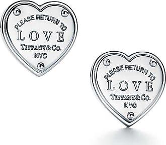 Tiffany & Co. Return to Tiffany Love earrings in sterling silver