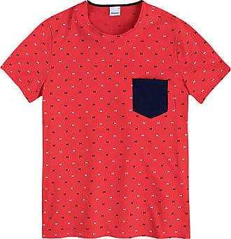Malwee Camiseta Slim,Malwee, Masculino, Vermelho, GG