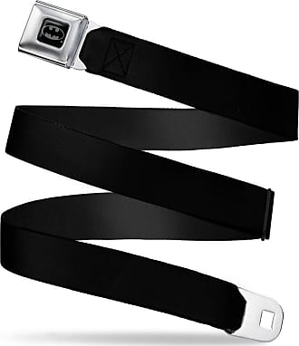 Buckle-Down Mens Seatbelt Belt XL 1.5 Wide-32-52 Inches Guardians of The Galaxy Badge//Character Icons Black//Multi Color