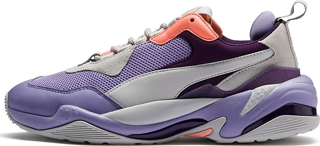Womens PUMA Thunder Spectra Trainers, Sweet Lavender/Bright Peach, size 4.5, Shoes