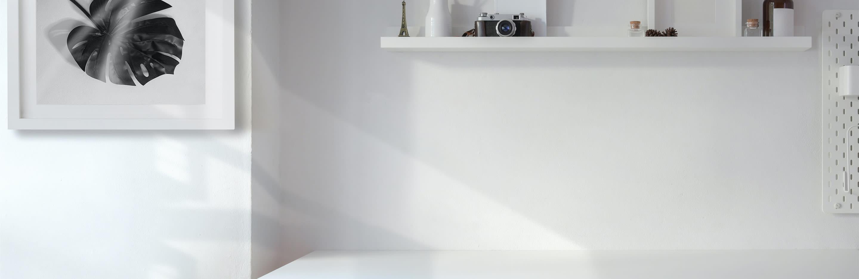 Schluss mit langweilig & schlichten weißen Wänden