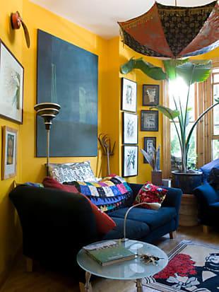 Tolle Ideen Für Deine Wandgestaltung In Gelb