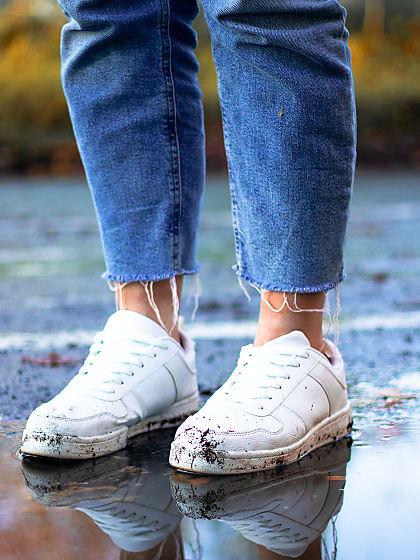 Sneaker richtig imprägnieren und vor Dreck schützen   Stylight