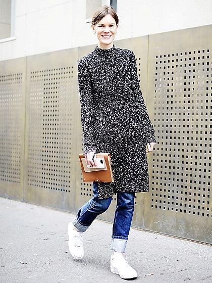 Kleid über Hose » Die 5 coolsten Looks | Stylight
