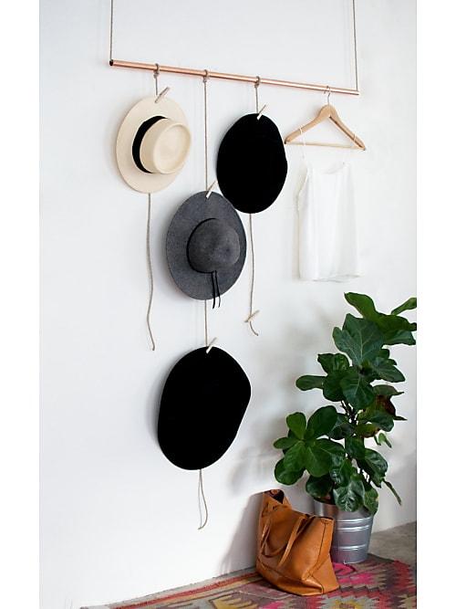 Garderobe Kupfer dein nächstes diy-projekt: eine stylische garderobe mit kupfer