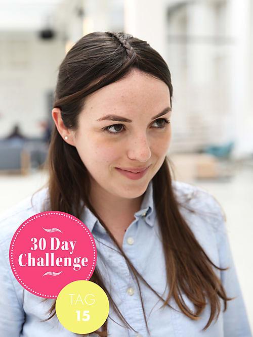 30 Day Challenge Neuer Tag Neue Frisur Tag 15 Stylight
