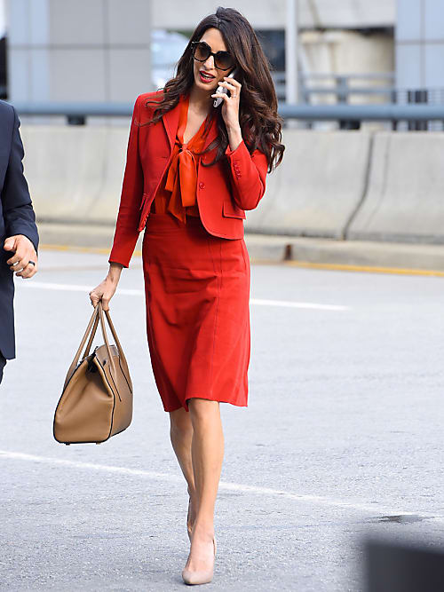 Amal Clooney Inspired Workwear Stylight